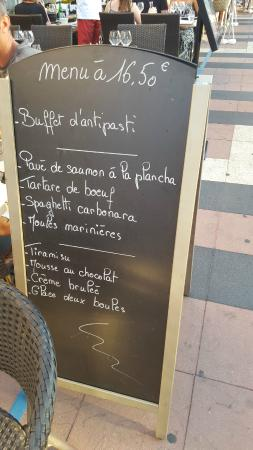 Le Thimotee : One of the many good deals at another restaurant