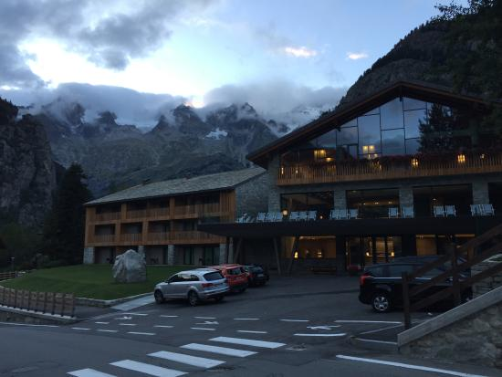 Il dolce picture of grand hotel courmayeur mont blanc for Auberge de la maison courmayeur tripadvisor