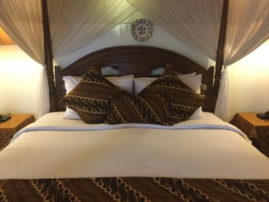 Ubud Syailendra Villas : 1of the 2 bedrooms