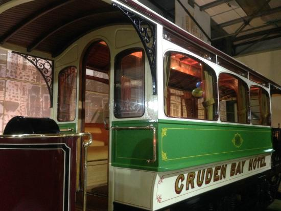 Grampian Transport Museum: Old carriage