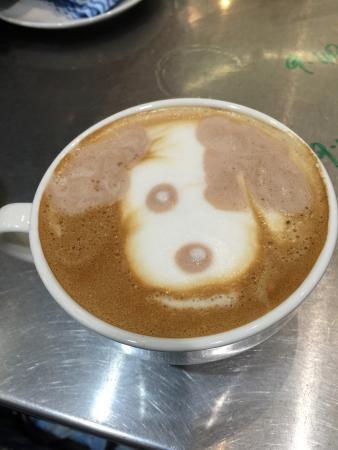 Voltage Espresso: More amazing latte art by Jacob