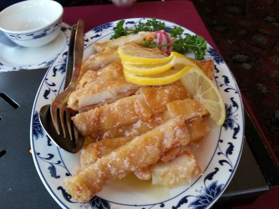 Wet Wok: Lemon Chicken