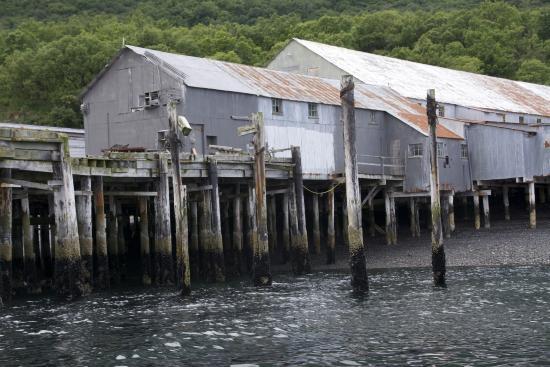 Kodiak National Wildlife Refuge, Аляска: alte Fischfabrik