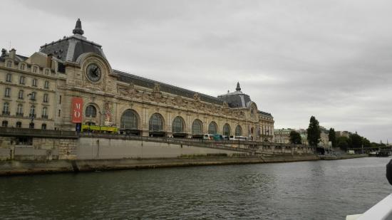 Paris, Frankrike: Vista del museo d'orsay