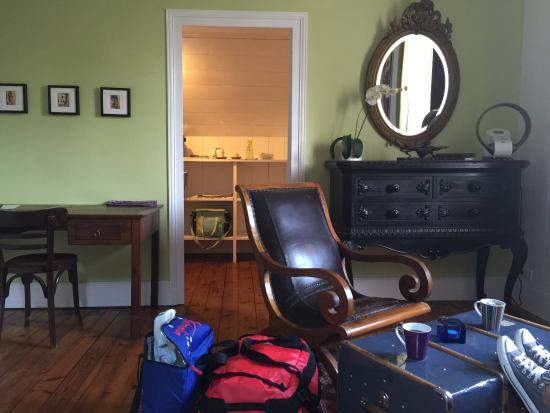 Chambres d'Hotes Couleurs du Temps : Room