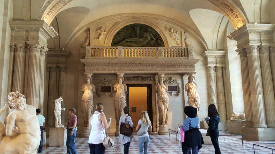 Paris, Frankrike: Scuptures @ Louvre