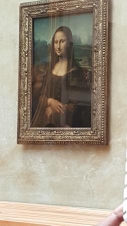 Paris, Frankrike: Mona lisa @ Louvre