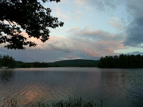 New Hampton, New Hampshire: Sunset
