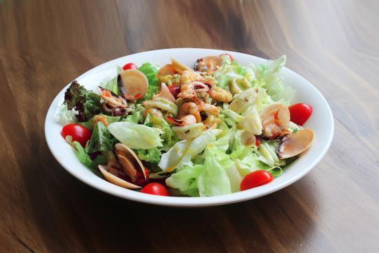 Seafood Salad - Picture of Windmills Saigon Coffee, Ho Chi Minh City ...