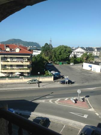 Hotel Las Ruedas: Uitzicht vanuit het hotel