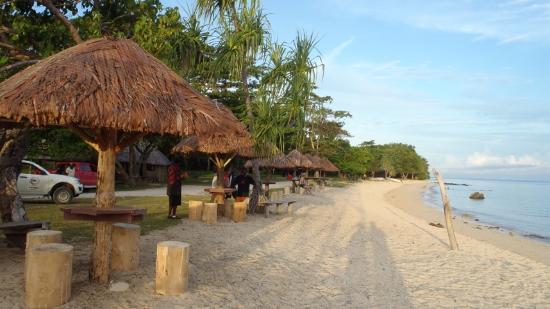Million Dollar Point: the beach area