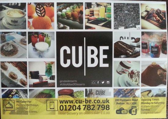 Bolton, UK: THE CUBE