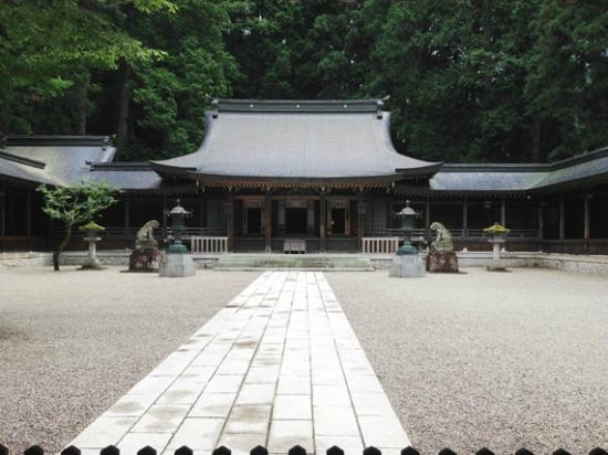 Hida Ichinomiya Mizunashi Shrine