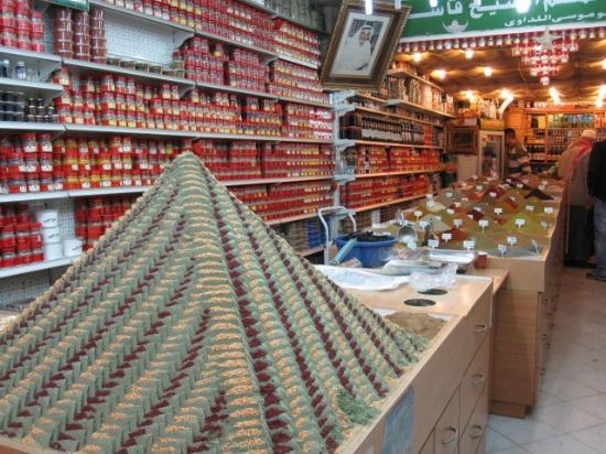 Souk: Spice shop