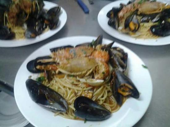 Osteria Zia Maria: Spaghetti adriatico