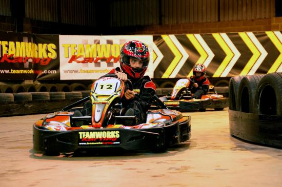 Teamworks Karting Letchworth: Exhilarating karting action