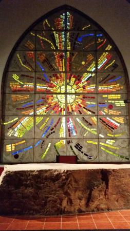 Templo Ecumenico de San Salvador : Le vitrail