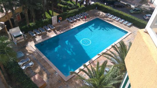Las Palomas: piscine de l'hotel