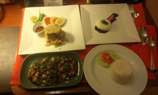 Le Siam Hotel: Roomservice menyn