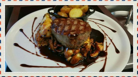 Steak d 39 espadon ananas r ti gingembre et citron picture - Cuisiner tournedos de boeuf ...