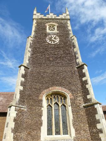 Sandringham, UK: Main tower of the church