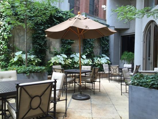 Mary Cassatt Tea Room Garden Philadelphia Pa