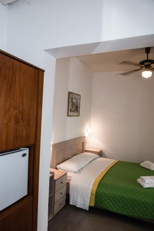 bedroom fridge picture of hotel nikos matala tripadvisor