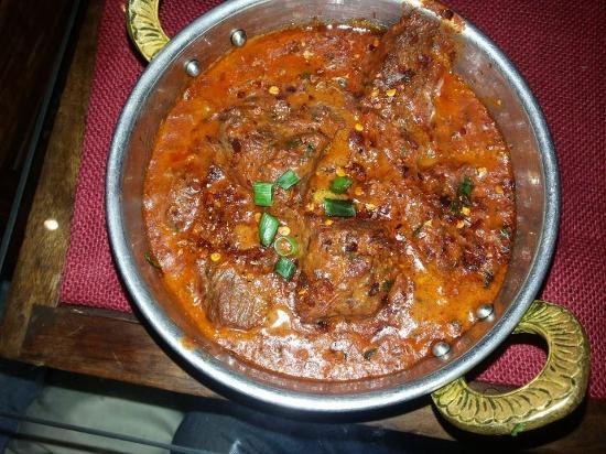 Geet Indian Restaurant : Ostrich Masala