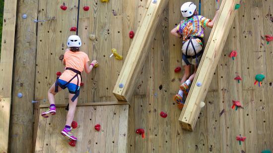 Newbury, Nueva Hampshire: Climbing Walls
