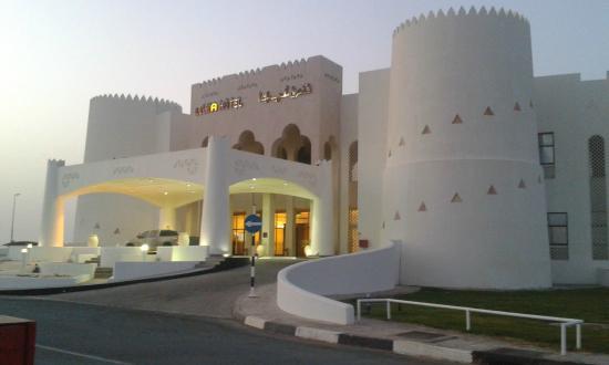 View of Liwa Hotel entrance