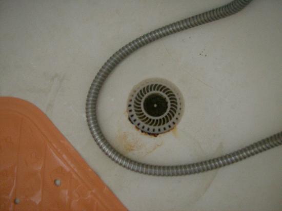 Vasca Da Bagno Ruggine : Scolo acqua nella vasca capelli a intasare e ruggine foto di la