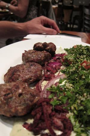 The Colony: Lamb kebabs