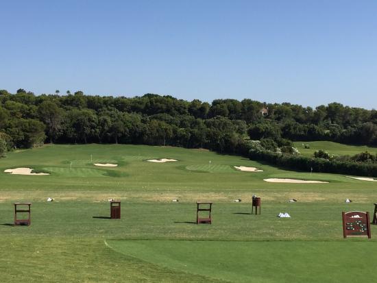 Real Club Valderrama: Valderrama's practice range