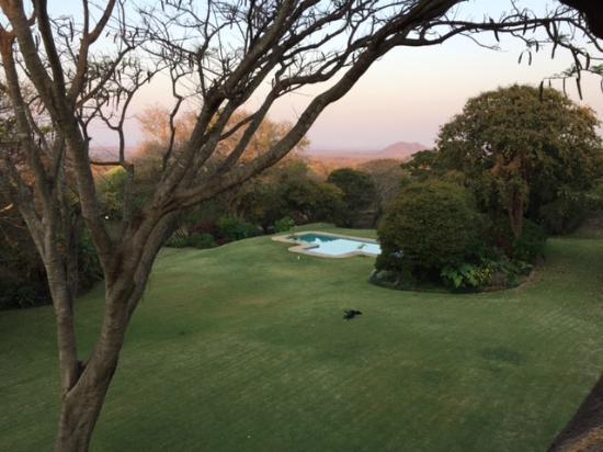 Kumbali Country Lodge: View from the upper veranda