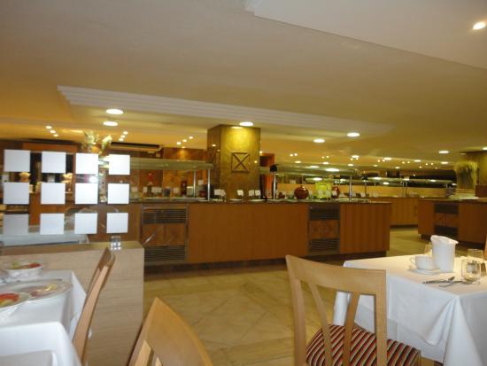 Universal Hotel Perla: sala da pranzo