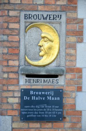 De Halve Maan Brewery: Restaurant