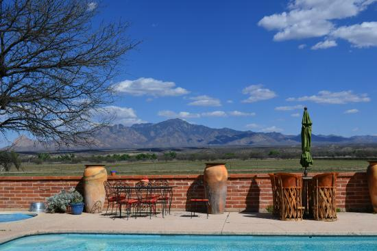 Amado, AZ: Wedding Reception View