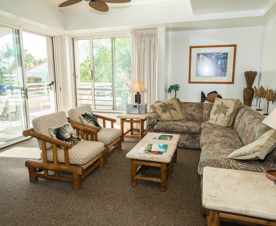 The One Bedroom Garden Villa Deluxe at the Palms at Wailea Maui by Outrigger