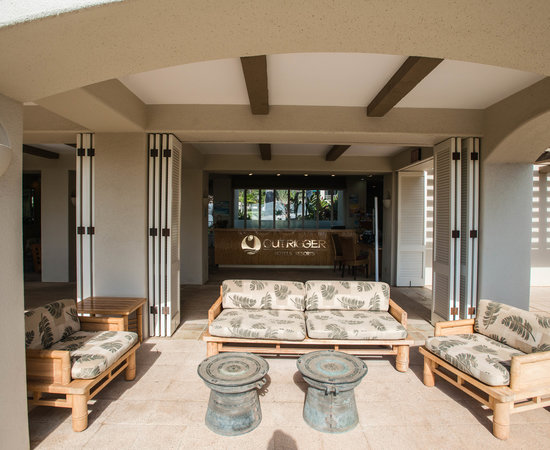Lobby at the Palms at Wailea Maui by Outrigger