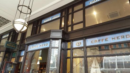 7b6a80328b1 CAFFE NERO, London - 2 Bishopsgate Arc, City of London - Updated ...