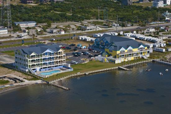 Good Winds Seafood Wine Bar Waves Village Watersports Resort Rodanthe Nc