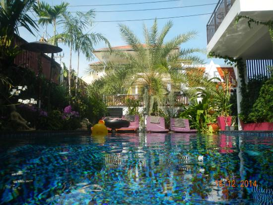 Swiss Paradise Boutique Villa: Pool