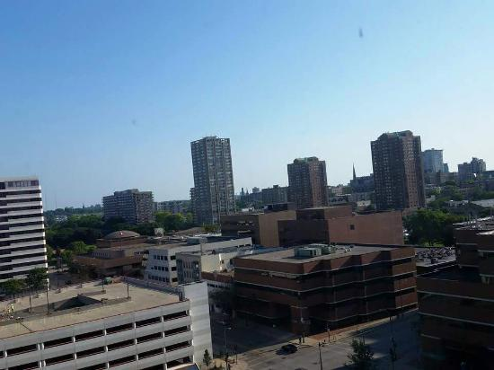 Milwaukee Athletic Club : Our room view