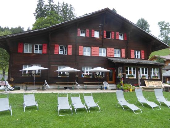 Naturfreundehaus: Front of the hostel