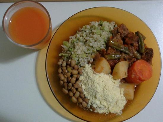 Japeri, RJ: Almoço básico
