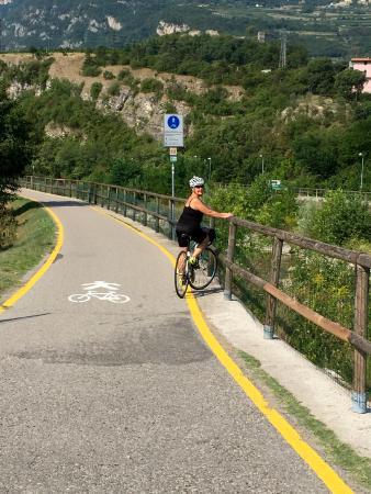 Pista ciclabile della Vallagarina: Trento - Rovereto – Avio