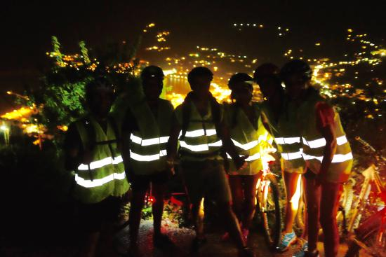 Skopelos cycling moon ride