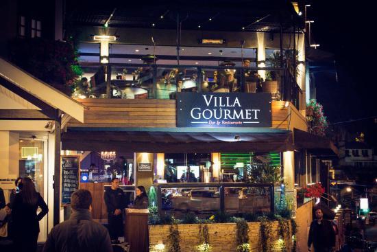 Foto de villa gourmet campos do jordao fachada do for Fachada para restaurante