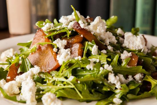 Lambertville, NJ: Baby Arugula, Roasted Golden Beets and Goat Cheese