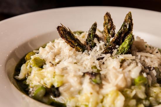 Lambertville, NJ: Roasted Asparagus Risotto